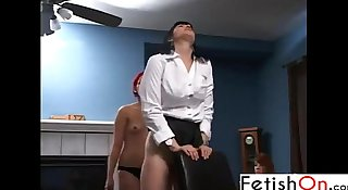 Fetishon - strapped spanking hd porn videos