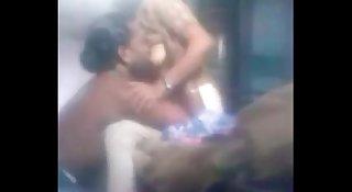 Kanchipuram Archagar Devanathan sucking Malar auntys boobs