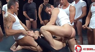 Amber Rayne gang bang HD Porn;