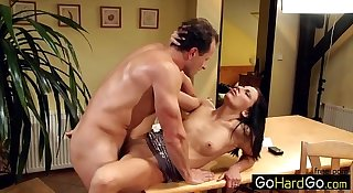 Whipping his cream for her porn HD Video