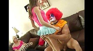 Teen Sucks a Clown!